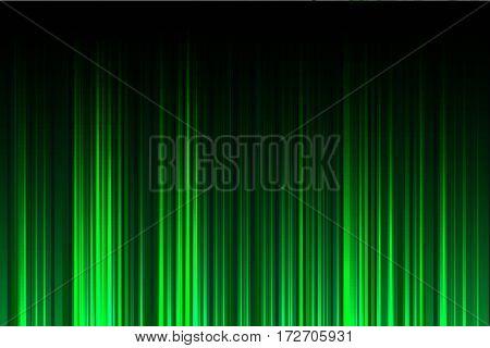 abstract green light background vector illustration