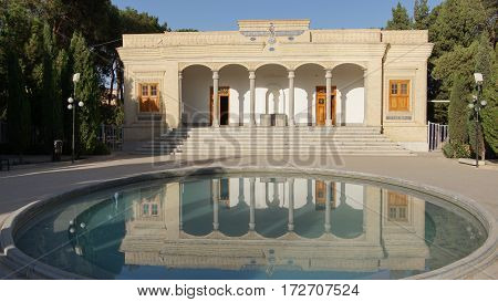YAZD, IRAN - OCTOBER 8, 2016: Zoroastrian fire temple, one of the sights of Yazd on October 8, 2016 in Iran, Asia