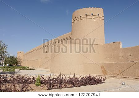 City Wall of Yazd, Iran, Persia, Asia