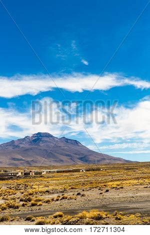 The Andes Road Cusco- Puno PeruSouth America 4910 m above The longest continental mountain range in the world many active volcanoes Sacred Valley of the Incas Spectacular nature of snow mount