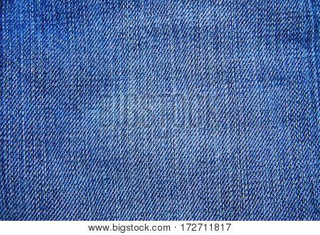 Jeans texture. Part of the blue jeans