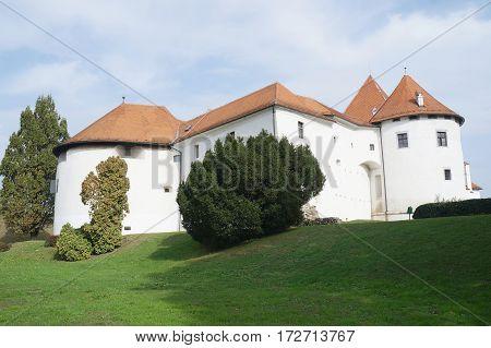 Stari Grad castle and park, Varazdin, Croatia