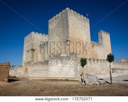 Castle At Ensinas De Escuevo, Spain