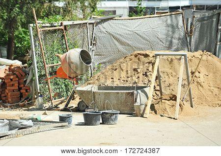 Concrete Mixer Tool