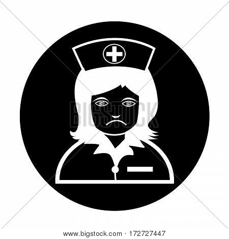 an images of Or pictogram Nurse Icon