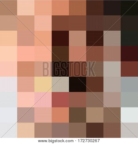 skin censored blur tone background vector illustration