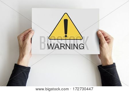 Warning Sign Caution Icon Word