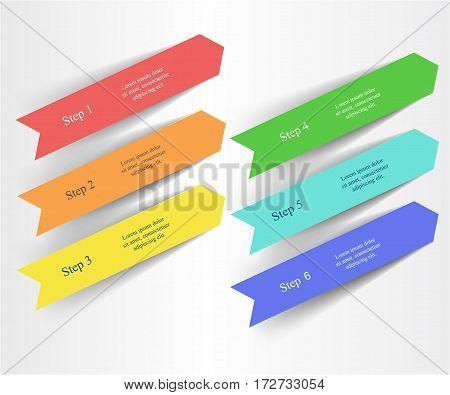 Vector Arrows Infographic.