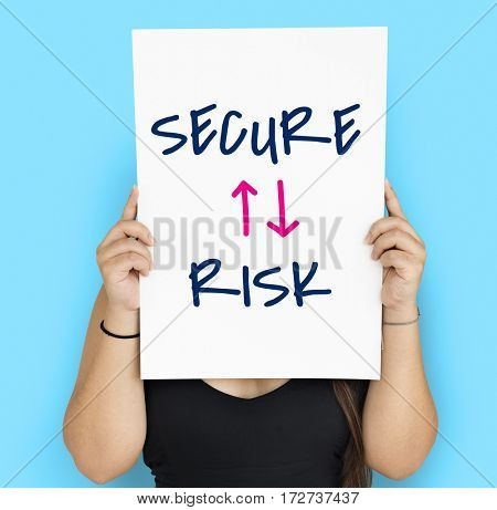 Innovation Technology Secure Risk Illustration