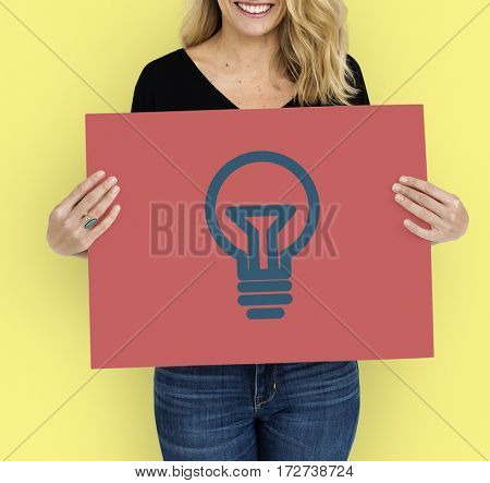 Lightbulb Idea Creativity Graphic Symbol Icon