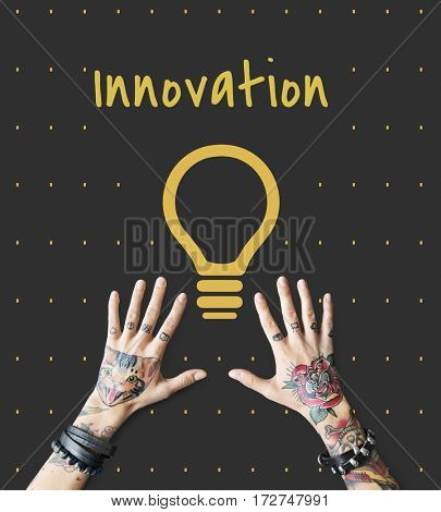 Inspiration Fresh Ideas Imagination Bulb Sign