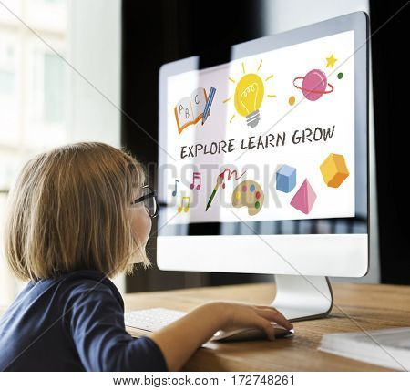 Education Knowledge Explore Learn Grow School