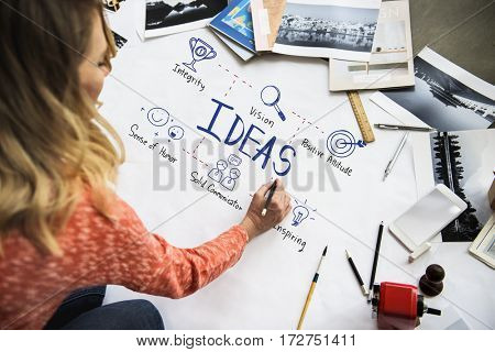 Creative Ideas Identity Product Develop Design