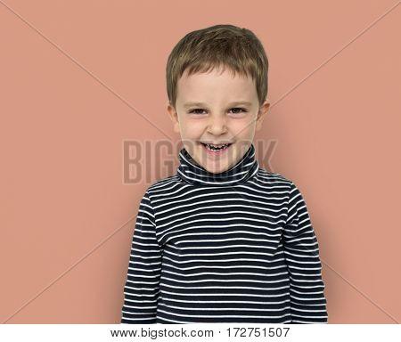Little Boy Kid Adorable Cute Portrait