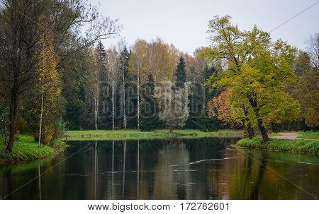 Autumn Scenery In Europe