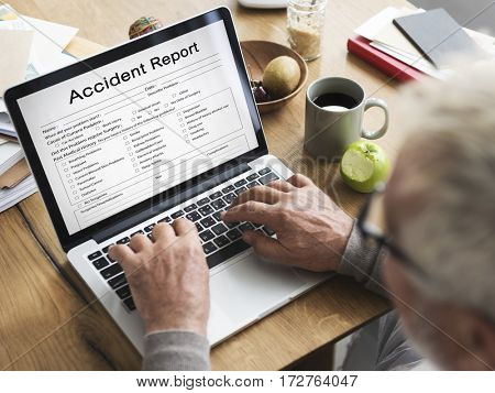 Accident Injury Information Report Health