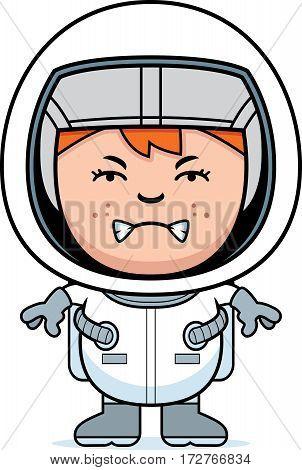 Angry Boy Astronaut