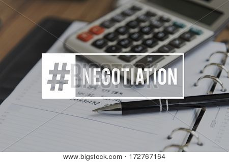 Deals Negotiation Paartnership Corporate Business
