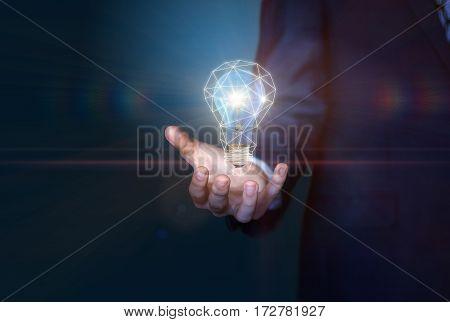 Bright Idea In Hand.