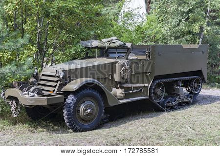 Historic military car of the Second World War