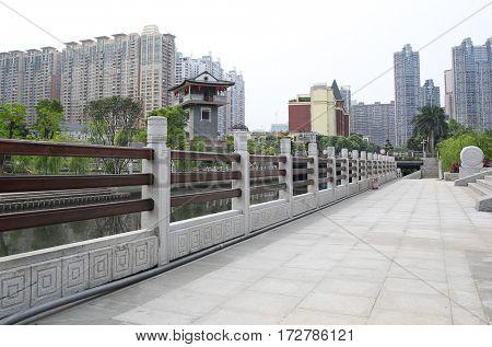 China guangzhou city landscape