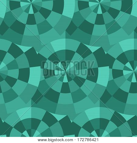 Vector seamless mosaic pattern. Colorful endless tessellated background