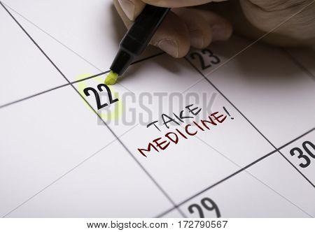 Take Medicine