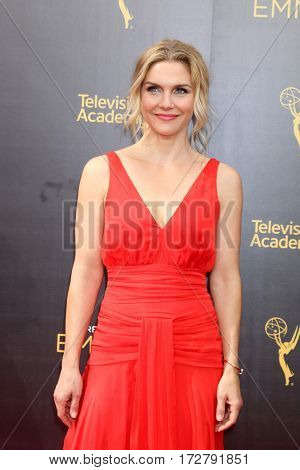 LOS ANGELES - SEP 10:  Rhea Seehorn at the 2016 Creative Arts Emmy Awards - Day 1 - Arrivals at the Microsoft Theater on September 10, 2016 in Los Angeles, CA