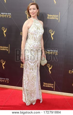 LOS ANGELES - SEP 10:  Molly Parker at the 2016 Creative Arts Emmy Awards - Day 1 - Arrivals at the Microsoft Theater on September 10, 2016 in Los Angeles, CA