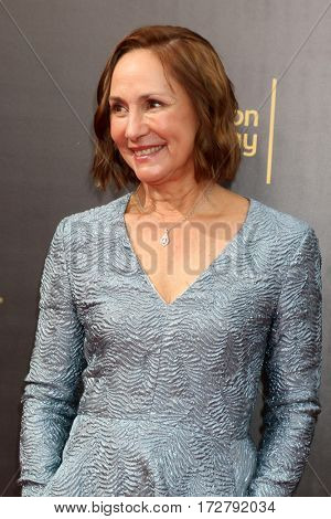 LOS ANGELES - SEP 10:  Laurie Metcalf at the 2016 Creative Arts Emmy Awards - Day 1 - Arrivals at the Microsoft Theater on September 10, 2016 in Los Angeles, CA