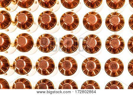 Pistol Ammunitions From Top