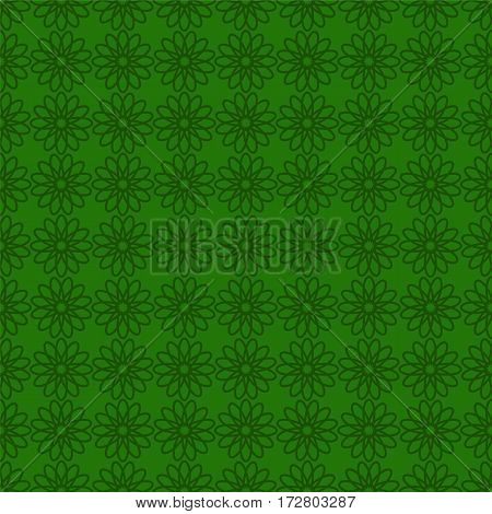 Seamless background with green design. St. Patrick day background.