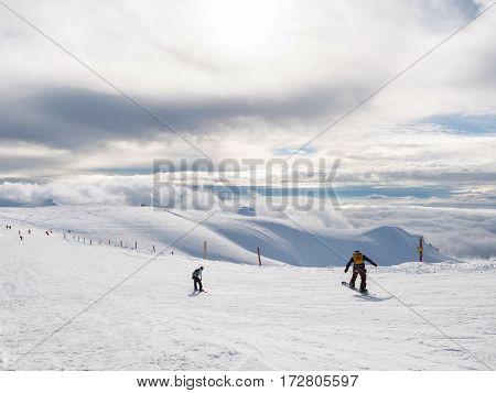 The Top Of Kalavrita Ski Center