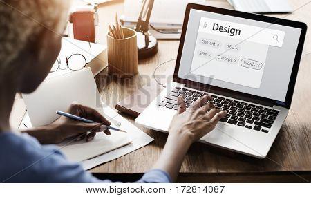 Internet User Interface Web Template