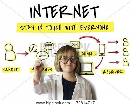 Internet Network Technology Social Network
