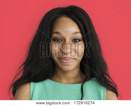 African Descent Woman Smiling Portrait