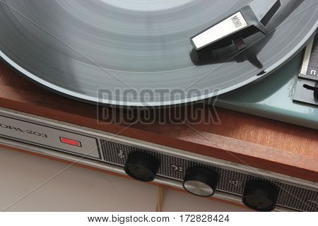 gramophone record stereo music sound equipment disk