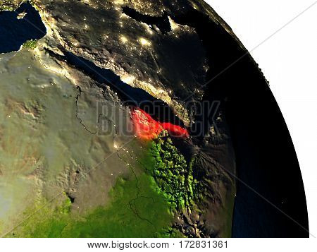 Eritrea From Space