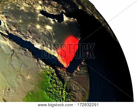 Yemen From Space