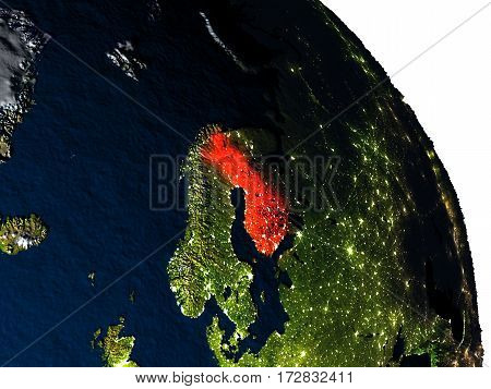 Finland From Space
