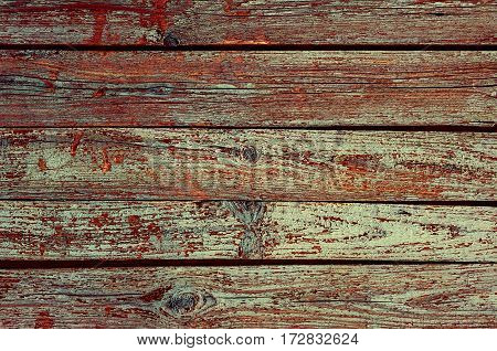 Wood Texture Background with natural pattern, dark color. Horizontal
