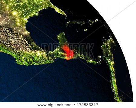 Guatemala From Space