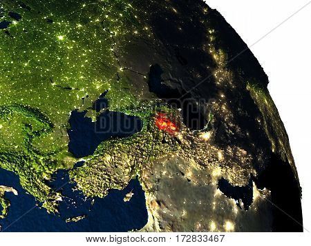 Armenia From Space