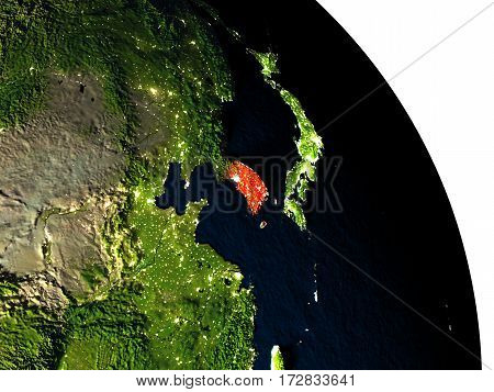 South Korea From Space