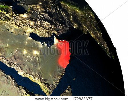 Oman From Space