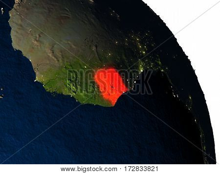 Ivory Coast From Space