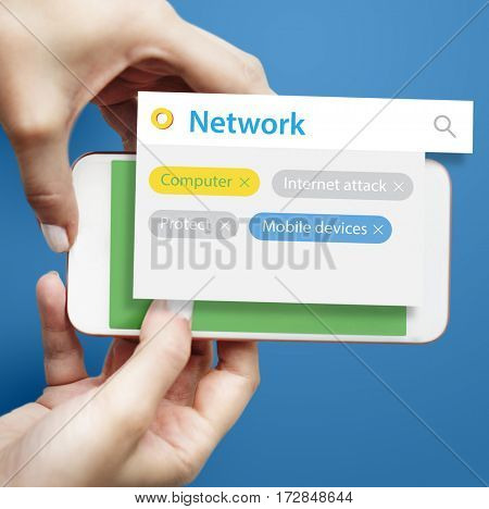 Technology System Network Security Development Graphic Word
