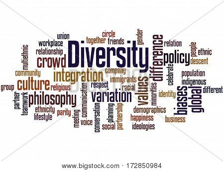 Diversity, Word Cloud Concept 2
