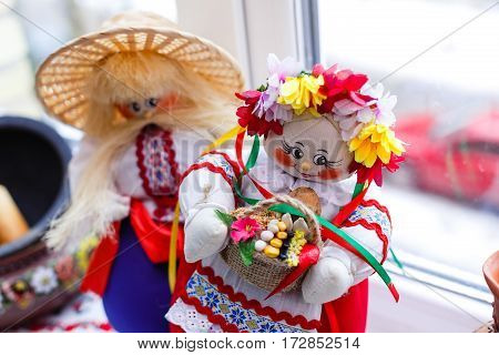 Ukrainian Traditional The Magic Guarded Handmade Dolls Motanka