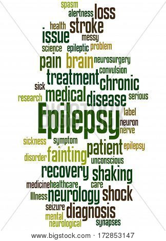 Epilepsy, Word Cloud Concept 8